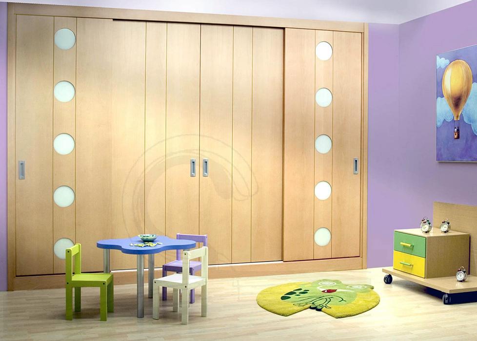 Armario diseño para habitación de niños